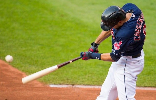 Lonnie Chisenhall Was Playing With Cheat Codes Last Night