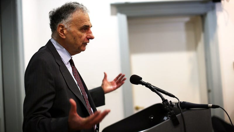 Ralph Nader Is Just Mailing It In These Days