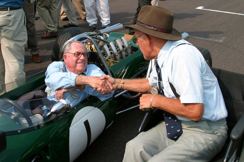 Stirling Moss Number One In List Of Top 100 F1 Drivers