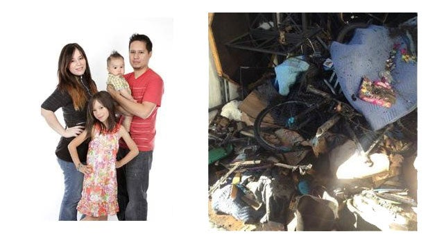 Family Loses Everything When Moving Van Catches Fire