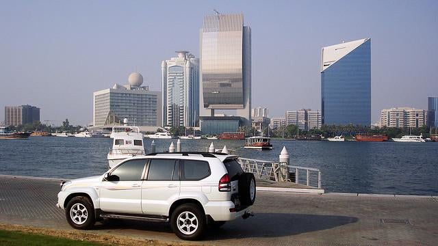 Dubai Police Fines Drivers For Making Car Theft Too Easy