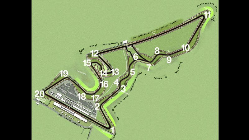 Circuit of the Americas: A turn-by-turn guide