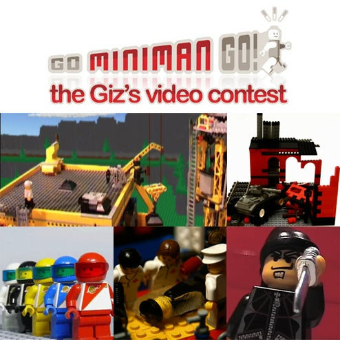 Winners of the Go Miniman Go Lego Video Contest
