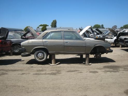 Every Peugeot 504 In California Now Crusher Bound