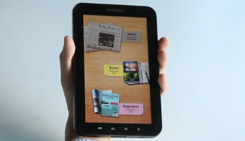 Watch 10 Minutes of Hot Samsung Galaxy Tab Action