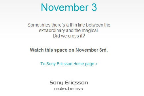 Android-Based Sony Ericsson Xperia X3 Coming Nov 3?