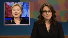 "Tina Fey Endorses ""Bitch"" Clinton"