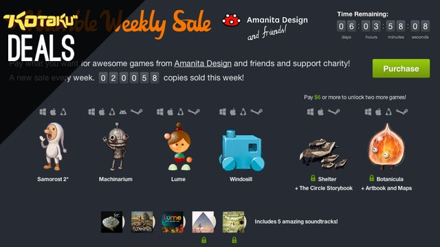 Humble Weekly Sale, High-End TVs, Link Between Worlds [Deals]