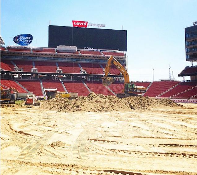 Levi's Stadium Is Still Not Playable