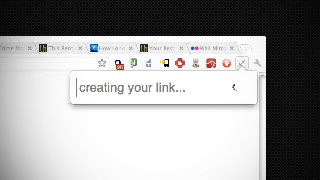 Tabulate! Shares Links to Every Tab in Your Chrome Window