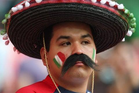 Mexico Fans Win Important Football Fancy Dress Battle