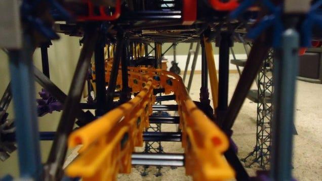 This Insane Pinball Machine is Made Only from K'Nex