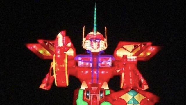 Behold the Largest Robot Lantern in the World (Apparently!)