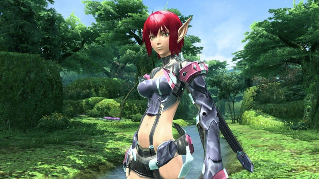 The Difference Between New and Old Phantasy Star? Better Underwear.