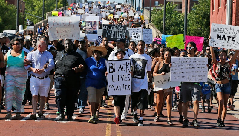 Sean Hannity Urges Reporter toAsk the Protestors Why Just the Black Lives Matter