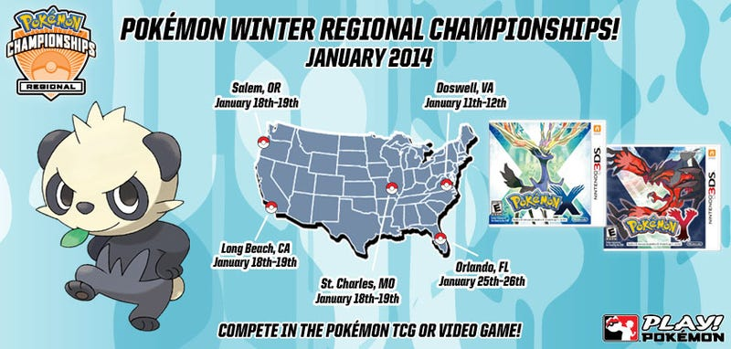 All The Cool Pokémon Tournaments Are Using X & Y Now