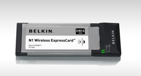 Belkin Shows Us Some ExpressCard Love with N1 Card