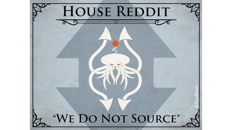 If Game Of Thrones' Houses Were Internet Sites