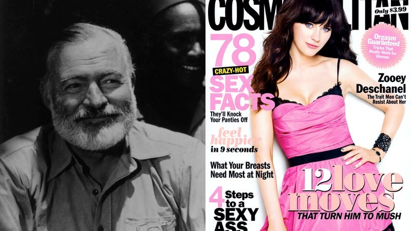 Cosmo Sex Tips as Written by Famous Authors