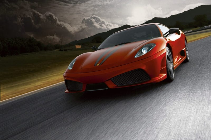 I Will Be Driving a 430 Scuderia