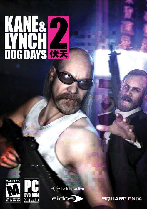 Kane & Lynch 2 Box Art Doesn't Want Its Picture Taken