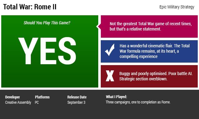 Total War: Rome II: The Kotaku Review