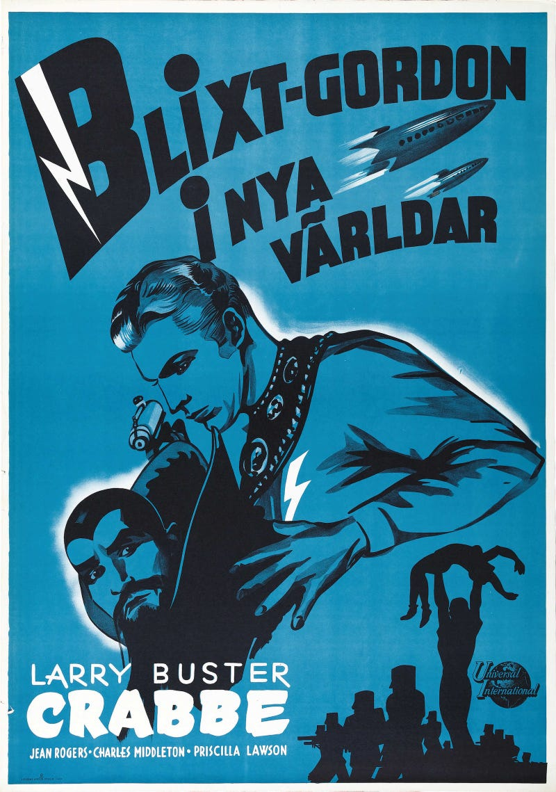 Classic Movie Posters Prove that Everything Is Better in Swedish