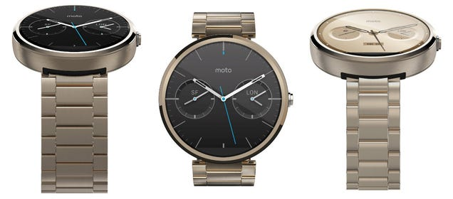 A Gold Moto 360 Just Appeared