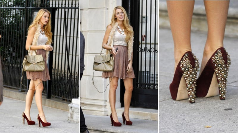 Blake Lively's Heels Look Hurtful