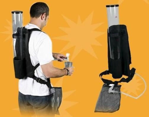 Portable Tap Dispenser: The Partier's Camelback