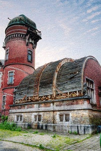 Dilapidated observatory looks like the Planet Express building