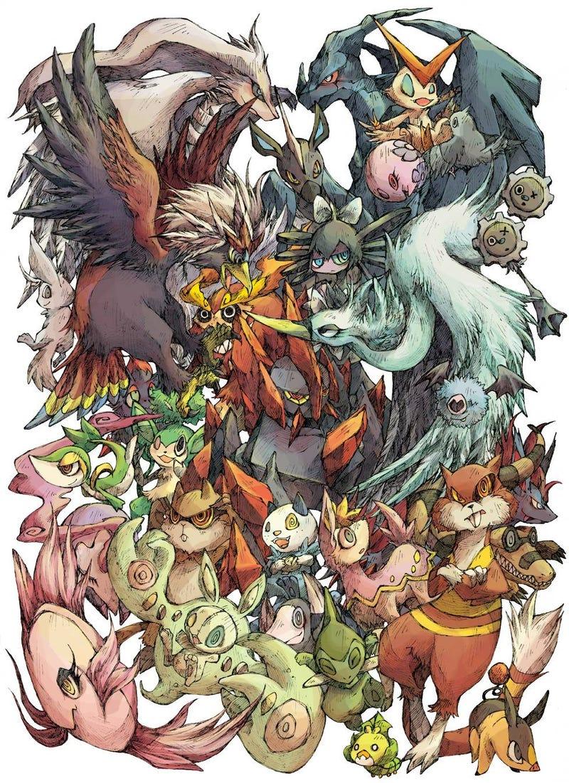 Pokémon, Looking All Evil