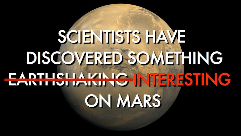 In (Partial) Defense of Overzealous Scientists: A Reflection on Martian Disappointments
