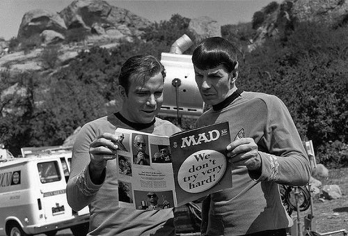 No Fair, Spock Always Gets to Do the Fold-In