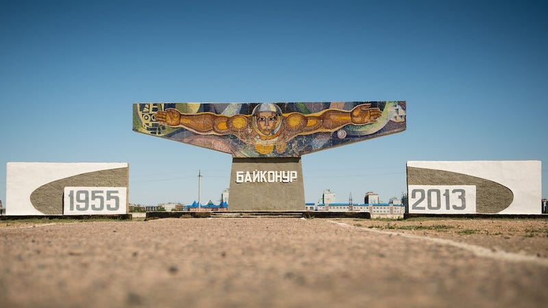 Tour Baikonur, the world's first and largest operational spaceport