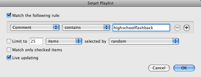 Top 10 iTunes Smart Playlists