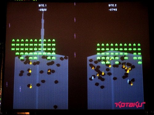 Space Invaders: The Anniversary Show Commemorates by Blowing Up World Trade Center