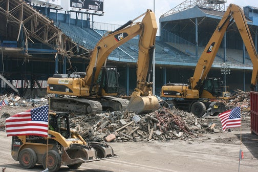 Tiger Stadium To Be Demolished, And 80 People Care