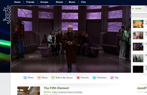 Screenshot Tour: Watch TV over the internet with Joost