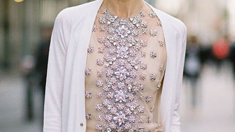 Fashion Scavenger Hunt: Help Find This Snooty and Sparkly Shirt