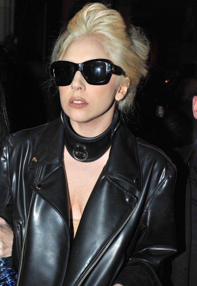 Lady Gaga Spent Christmas Playing With Balls