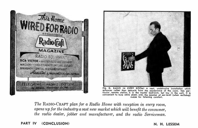 When Radio In Every Room Was the Dream of the Future