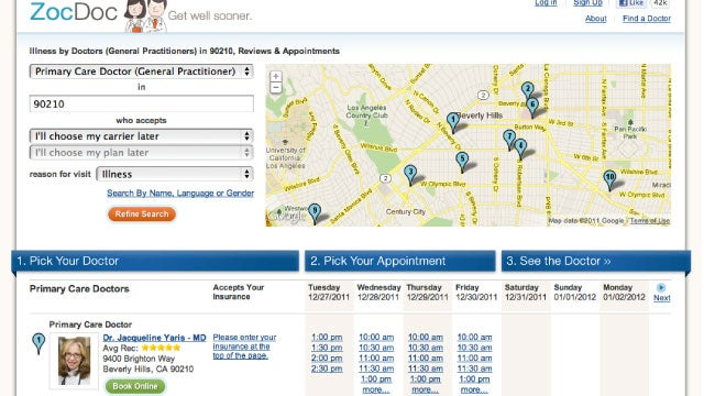 ZocDoc Makes Finding Doctors and Booking Appointments Online Simple