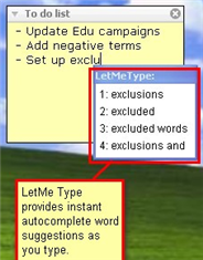 Download of the Day: LetMeType (Window)