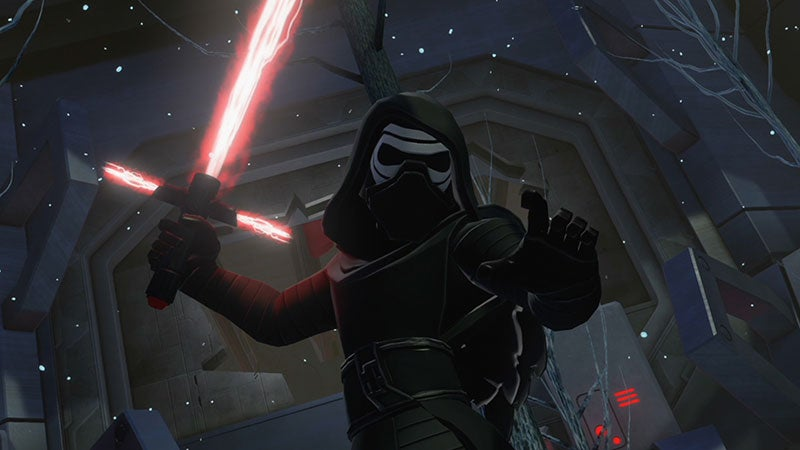 A Funny Thing Happens At The End Of Disney Infinity's Star Wars: The Force Awakens Play Set