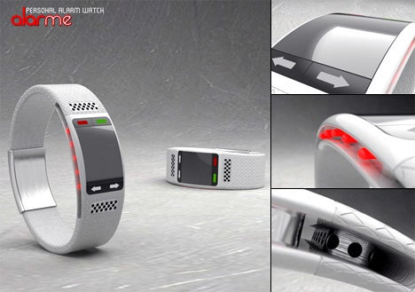 Watch Concept Gives Hearing-Impaired People a Fire Alert