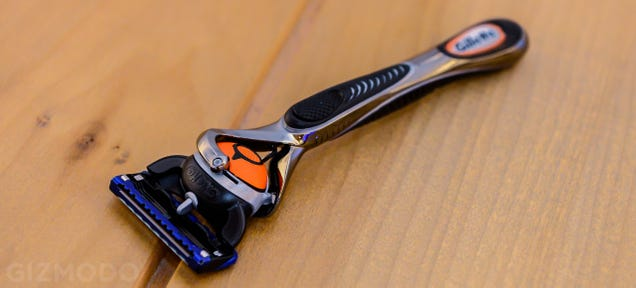 What It's Like to Shave with Gillette's Insane New Razor