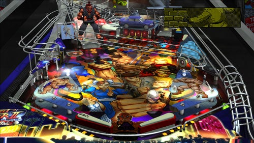 Pinball FX Gets Super Street Fighter II Turbo Table