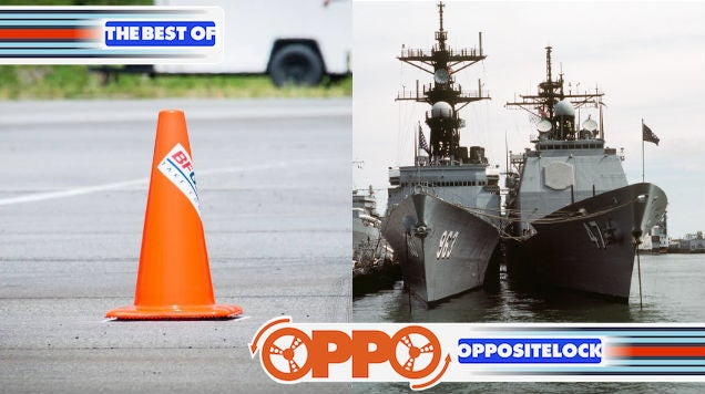 Autocrossing Happiness and The US Navy's most insidious problem