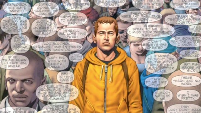 Check out a sneak preview of the new psychic teenager comic Harbinger